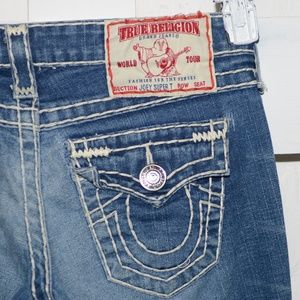 True religion Joey womens jeans size 25 L Super T